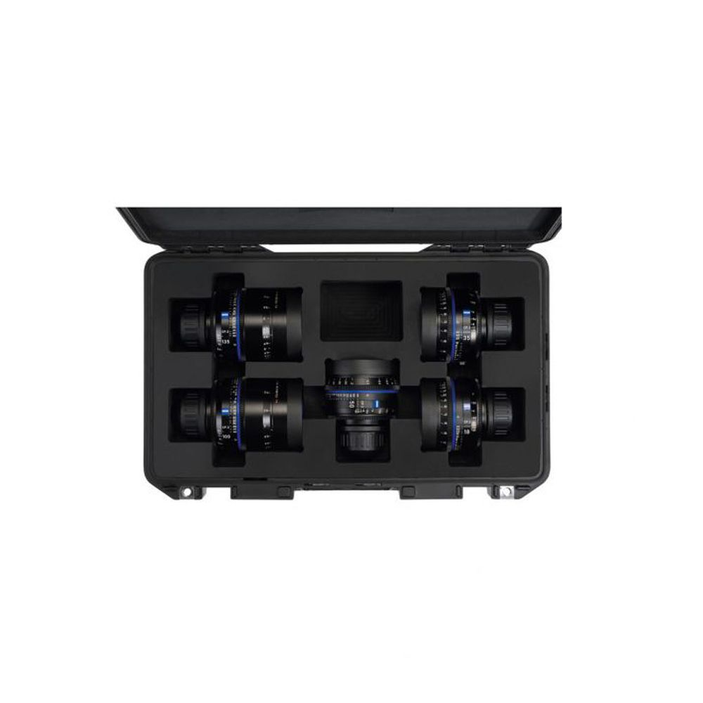 ZEISS Transport Case for Compact Prime CP 3 System (Fits 5 Lenses)