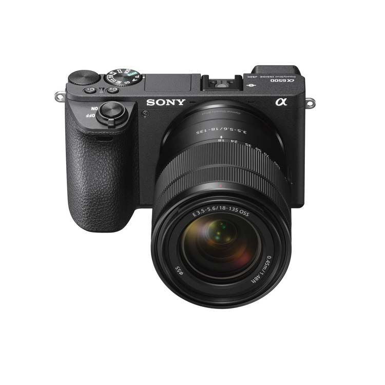 Sony Alpha a6500 with 18-135mm Lens - ILCE-6500M