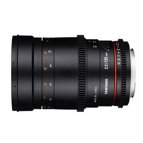 Samyang 135mm T2.2 VDSLR Sony E-Mount