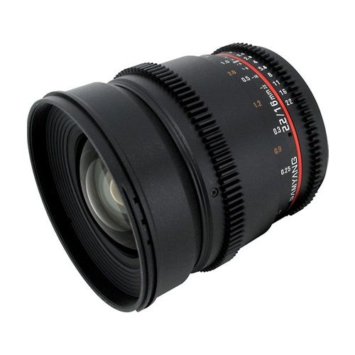 Samyang 16mm T2.2 Cine Lens for Sony E