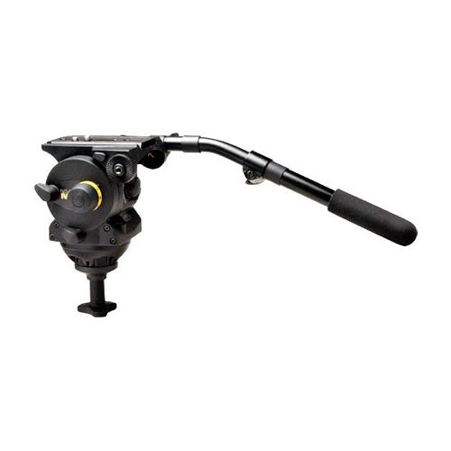 Vinten VISION 100 Fluid Head (100mm Ball Base) (Black) - Supports 44.1 lbs