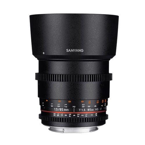 Samyang 85mm T1.5 VDSLR AS IF UMC II (Sony E-Mount)