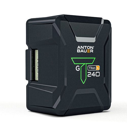 Anton Bauer Titon SL 240 Gold Mount Battery