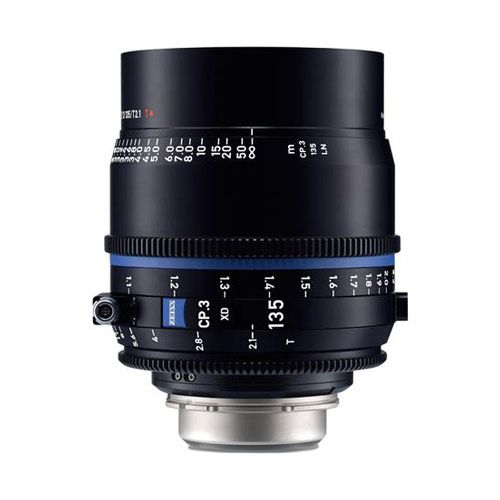 Zeiss CP.3 135mm T2.1 Compact Prime Lens (PL Mount, Meters)