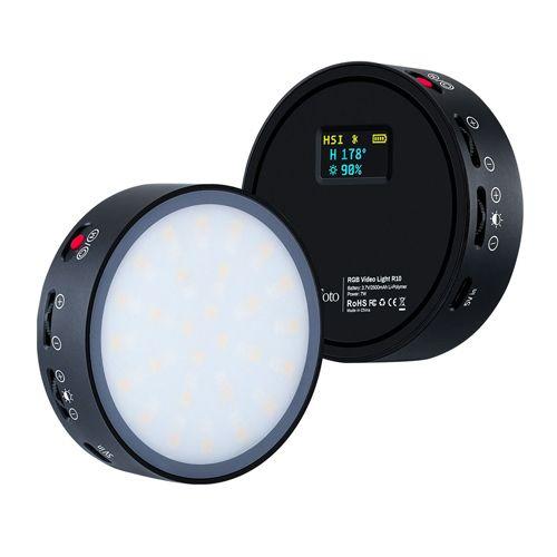 LituFoto RGB Video Light R10