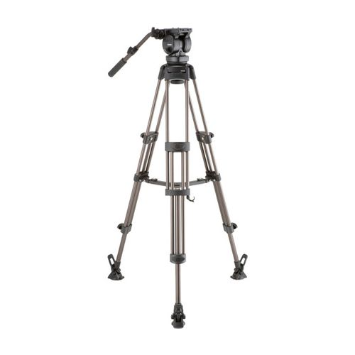 Libec LX10 M Two-Stage Aluminum Tripod System and H65B Head and Mid-Level Spreader
