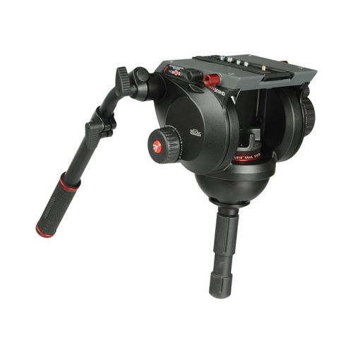 Manfrotto Tripod 509 Fluid Video Head with 100mm half ball