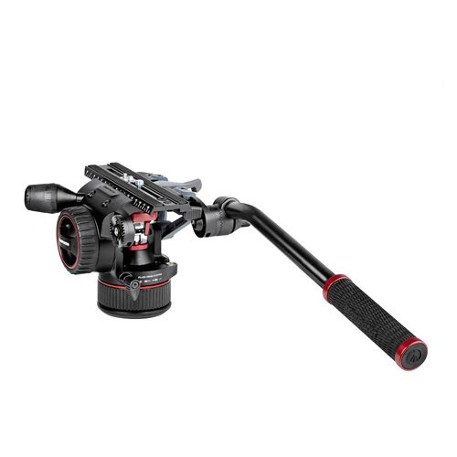 Manfrotto Nitrotech N12 Fluid Video Head With Continuous CBS