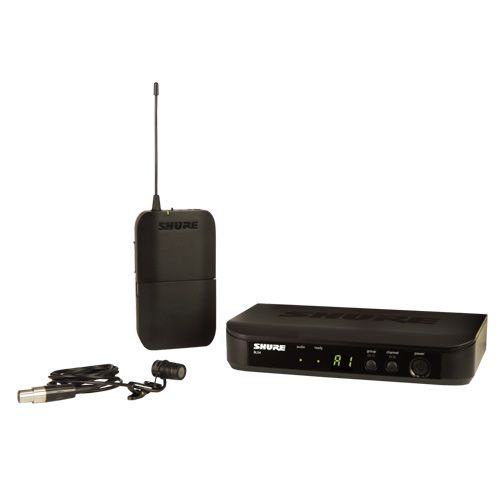 SHURE Wireless Presenter System with WL185 Lavalier Microphone