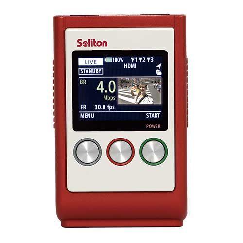 Soliton Smart-telecaster Zao-S H.265 Mobile Encoder