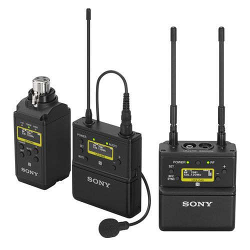Sony UWP-D26 (UWPD26)  bodypack transmitter and XLR plug-on wireless microphone transmitter package