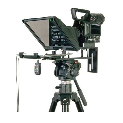 """DataVideo Universal Prompter For IPad/Android Tablet 7""""-10"""" With WR-500 Remote"""
