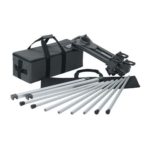 Libec TR320 Track Rail System with Dolly and Transport Case - 10.5' (3.2 m)