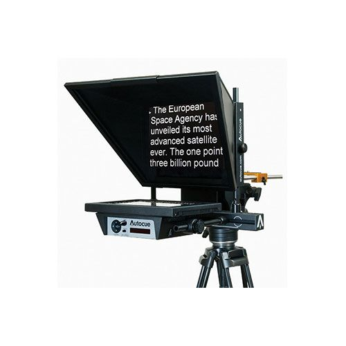 "Autocue/QTV MSP12MWARP 12"" Bottom-Mounted Master Series Prompter"