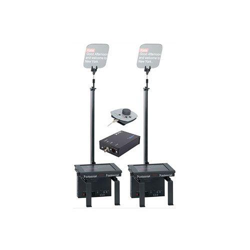 "Autoscript ESP-MRFS17PKG 17"" Dual Monitor Robotic Conference Stand Package"