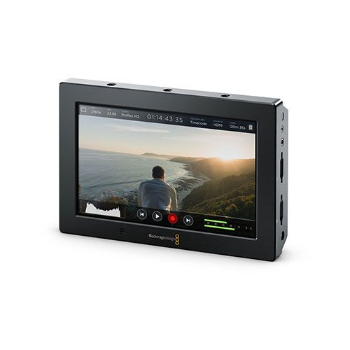 "Blackmagic Video Assist 4K 7"" high resolution monitor with Ultra HD recorder"