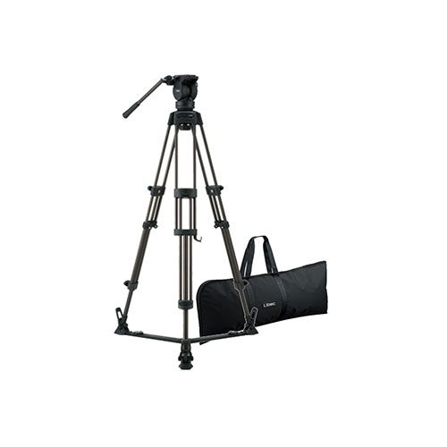 Libec LX7 Tripod With Pan and Tilt Fluid Head and Floor Spreader
