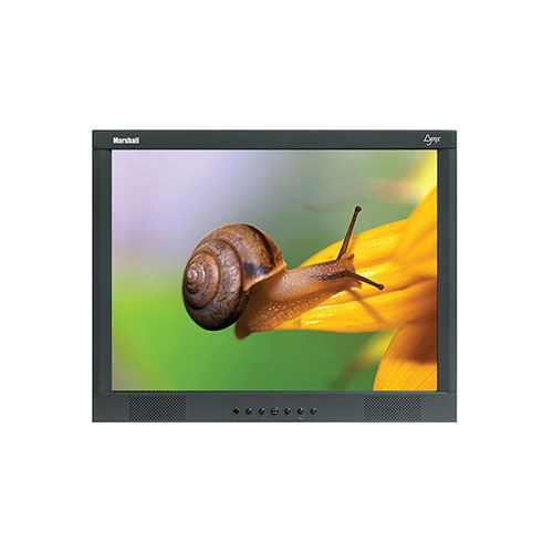 "Marshall Electronics M-Lynx-19-WM 19"" Lynx Series LCD Monitor with Wall Mount"