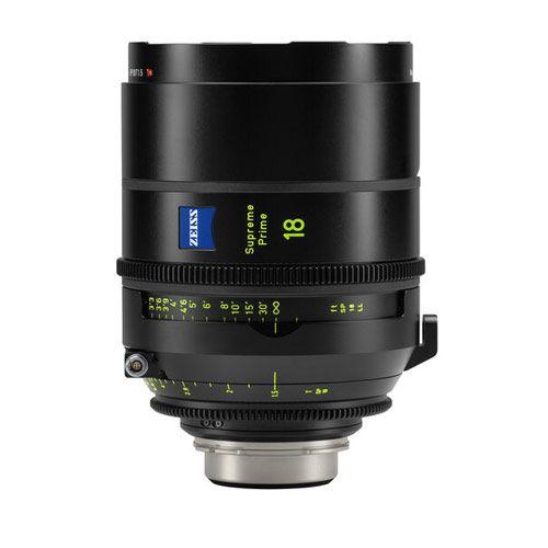 ZEISS Supreme Prime 18mm T1.5 Lens (Feet, PL Mount)