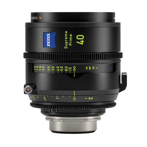 ZEISS Supreme Prime 40mm T1.5 Lens (Feet, PL Mount)