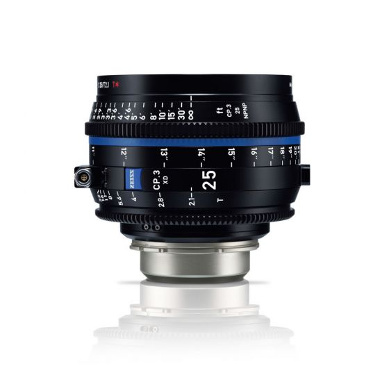 ZEISS CP.3 XD 25mm Compact Prime Lens