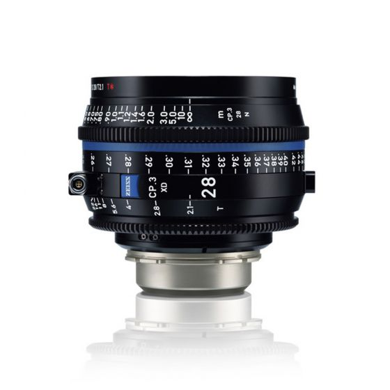 ZEISS CP.3 XD 28mm Compact Prime Lens