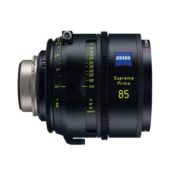 Zeiss Supreme Prime 85/T1.5 PL Meter