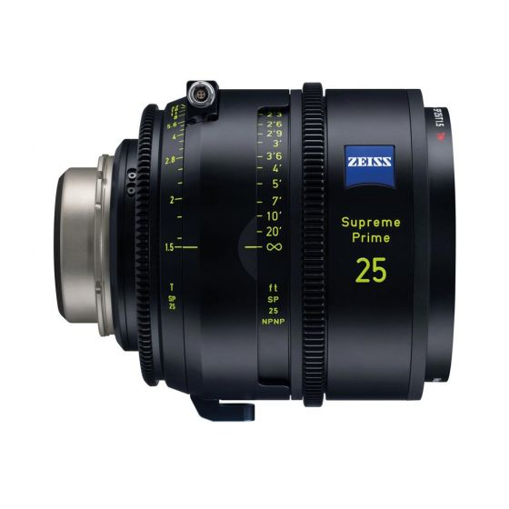 Zeiss Supreme Prime 25/T1.5 PL Meter