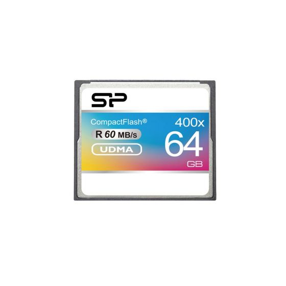 Silicon Power 64GB Hi Speed 400x Compact Flash Card