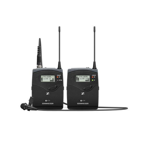 Sennheiser ew 112P G4 Camera-Mount Wireless Microphone System with ME 2-II Lavalier Mic A1: (470 to 516 MHz)