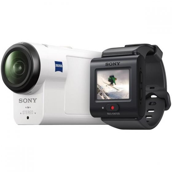 Sony HDR-AS300VR Action Camera with Live-View Remote