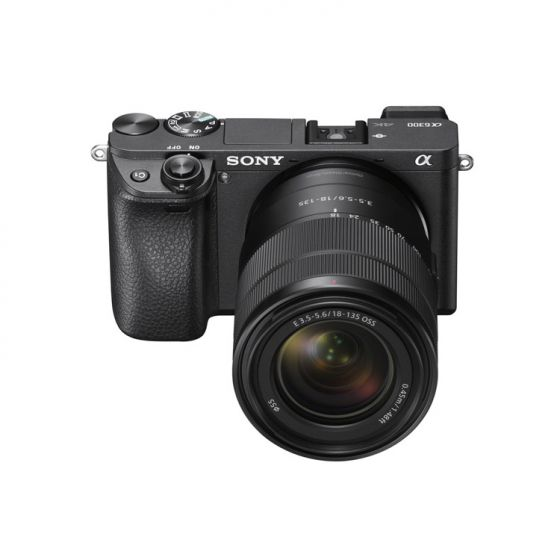 Sony Camera Alpha a6300 Mirrorless Digital Camera with 18-135mm Lens (Black)