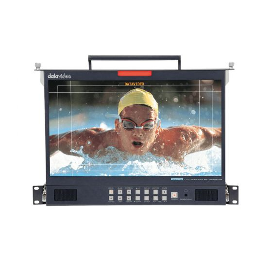 "Datavideo TLM-170LM 17.3"" 3G-SDI Full HD Rackmount LCD Monitor"