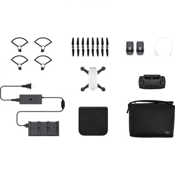 DJI Spark Fly More Combo With Free Battery