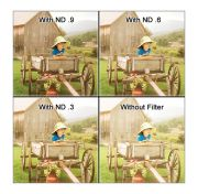 Tiffen 4 x 5.65 ND 0.4 Filter (1.3-Stop)