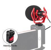 LensgoDMM1 Directional Shotgun Microphone for DSLR, Smartphones, and Portable Recorders