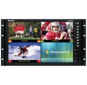 "Marshall Electronics QV171X-HDSDI 17"" Rack Mount / Desktop Quad Viewer Monitor"