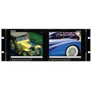"""Marshall Electronics V-R82DP-SD Dual Rack-Mountable 8.4"""" LCDs"""
