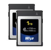 Wise Advanced 1TB CFX-B Series CFexpress Memory Card (2-Pack)