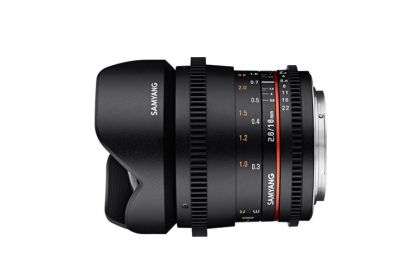 Samyang 16mm T2.6 VDSLR Lens with Sony E Mount