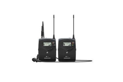 Sennheiser EW 112P G4-B Camera-Mount Wireless Microphone System