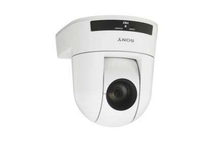 Sony SRG-300HW 1080p Desktop & Ceiling Mount Remote PTZ Camera with 30x Optical Zoom (White)