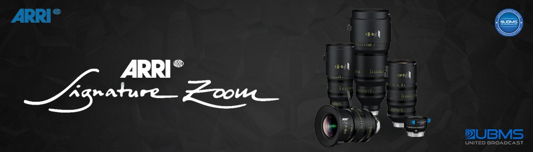 Arri Signature Zoom Lenses