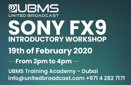 Sony FX9 Introductory Workshop
